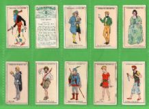 Tobacco Cigarette cards Fiction Uncle Tom,  Cinderella. Peter Pan